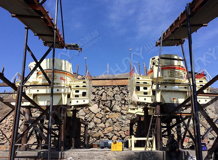 新疆吐鲁番铁矿石制砂生产线
